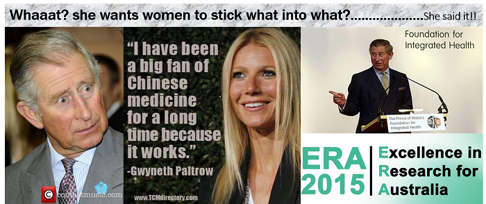 'Celebrity' endorsements! The NICM seeking Royal endorsement using their 'faked' ERA ranking!