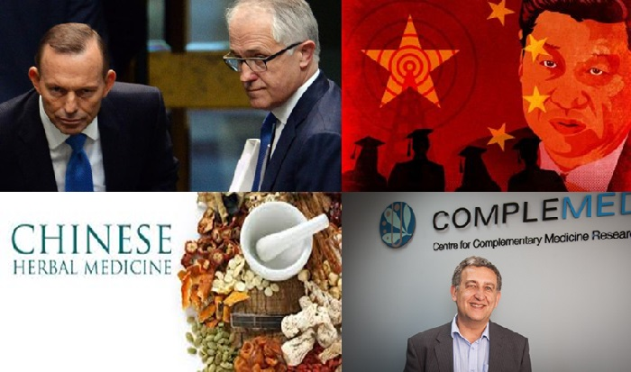 China Power and Influence! Part 2. TCM and the role of the Australian (prime) ministers.